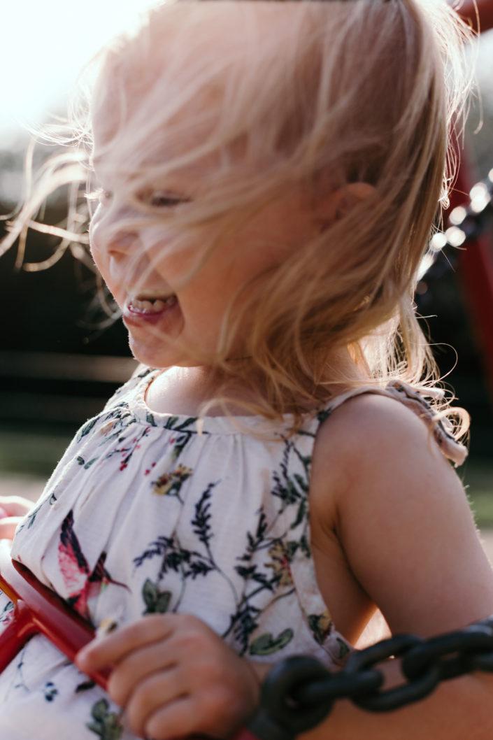 Girl on the swing by Ewa Jones Photography