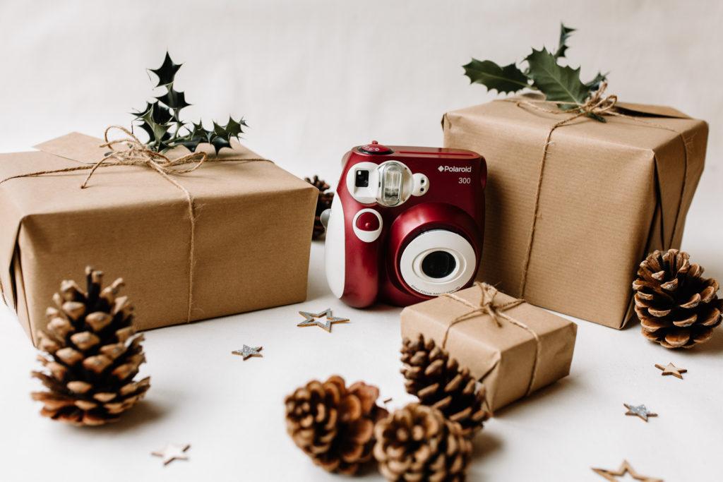 Polaroid camera. Photography gift ideas for photo enthusiasts. Ewa Jones Photography