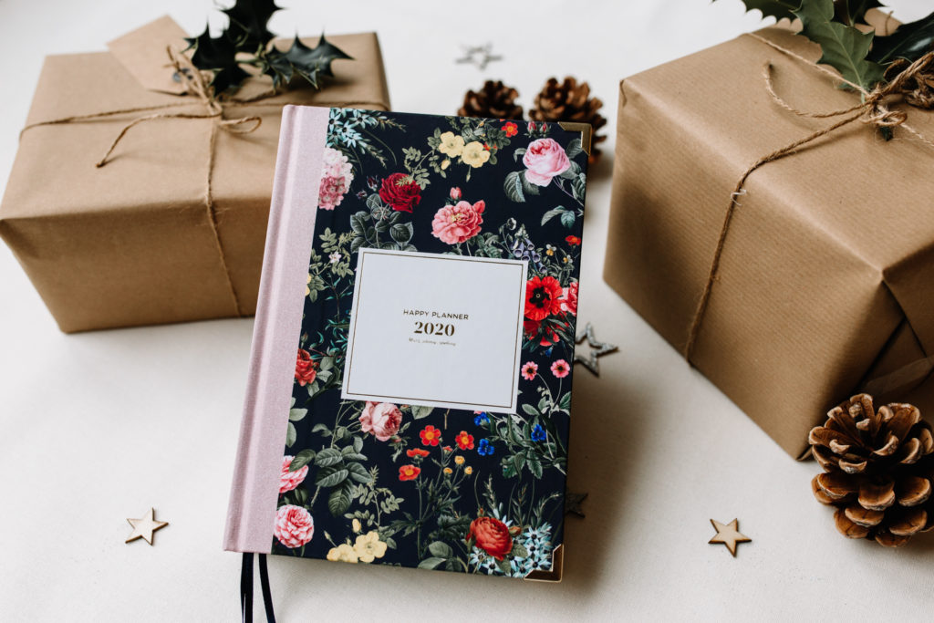 Yearly planner. Photography gift ideas for photo enthusiasts. Ewa Jones Photography