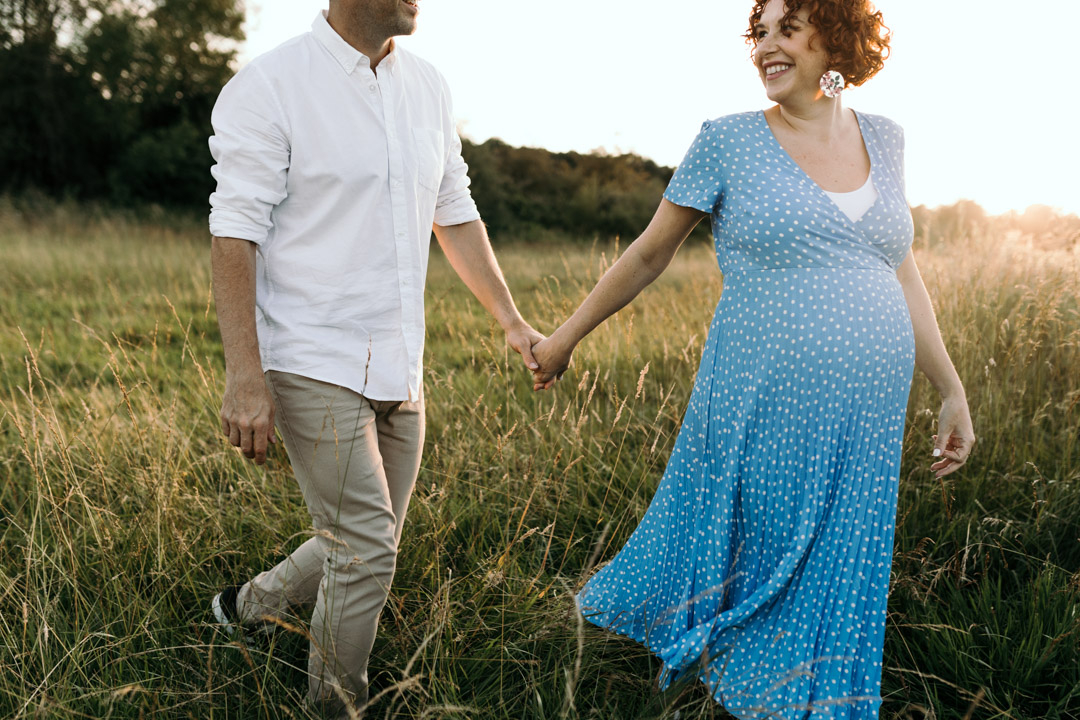 Why I love taking maternity photo sessions. Golden hour maternity photo session. Ewa Jones Photography