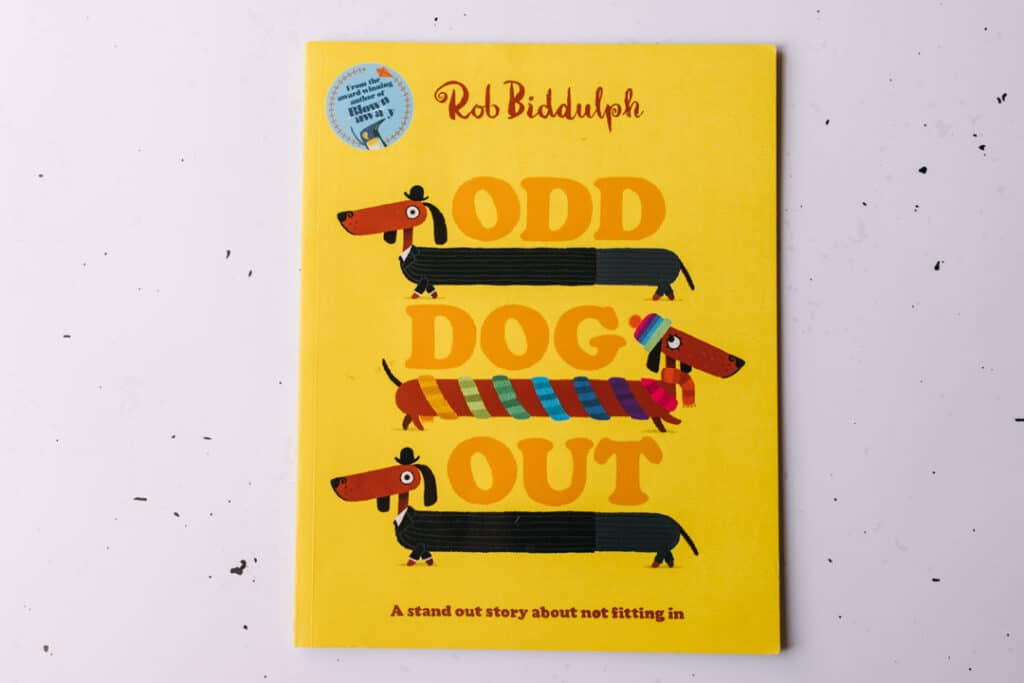 Odd dog out book. 30 books to read for 0-5 year old - Part 1. Ewa Jones Photography