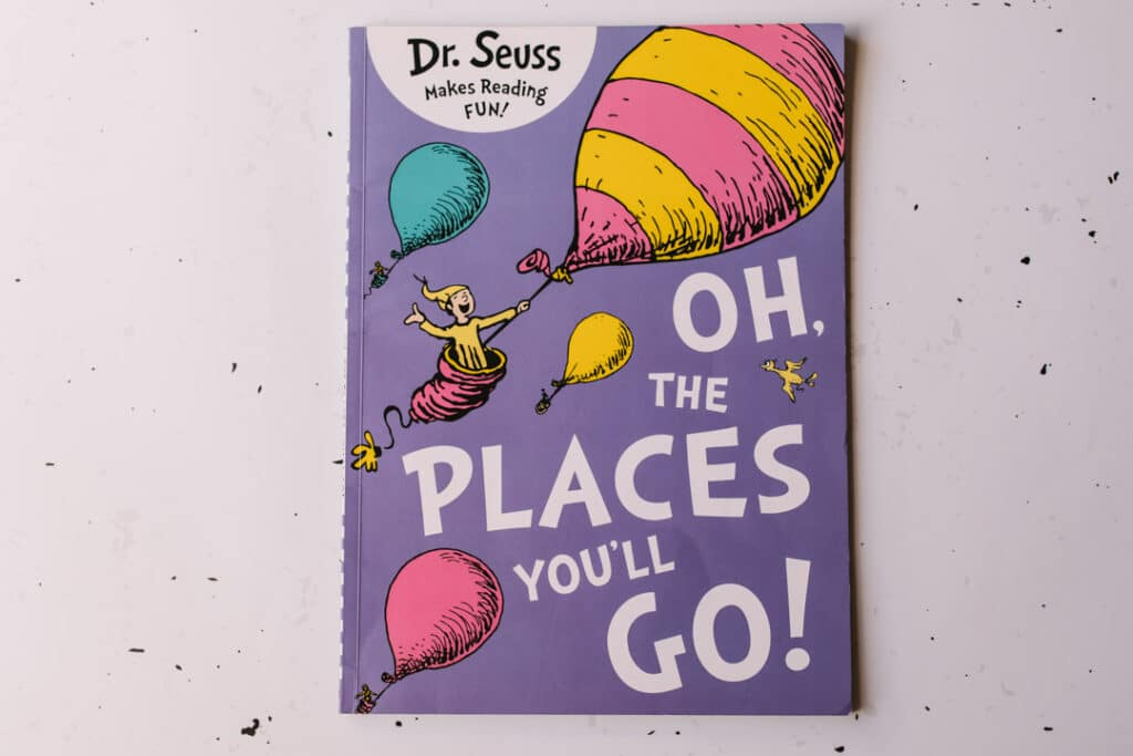 Oh, the places you'll go! book30 books to read for 0-5 year old - Part 1. Ewa Jones Photography