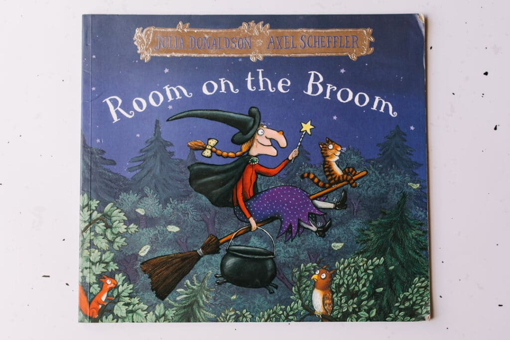 Room on the broom book.30 books to read for 0-5 year old - Part 1. Ewa Jones Photography