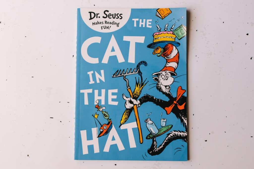 The cat in the hat book. 30 books to read for 0-5 year old - Part 1. Ewa Jones Photography