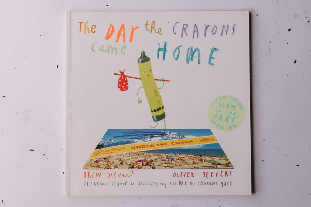 The day the crayons came home book. 30 books to read for 0-5 year old - Part 1. Ewa Jones Photography