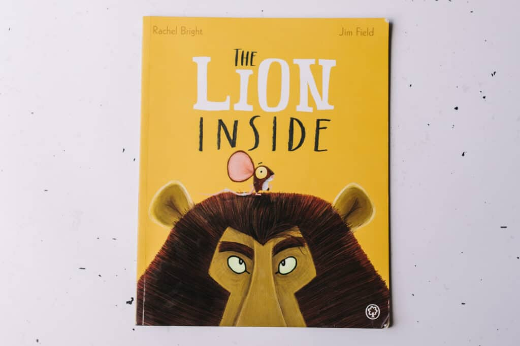 The lion inside book. 30 books to read for 0-5 year old - Part 1. Ewa Jones Photography
