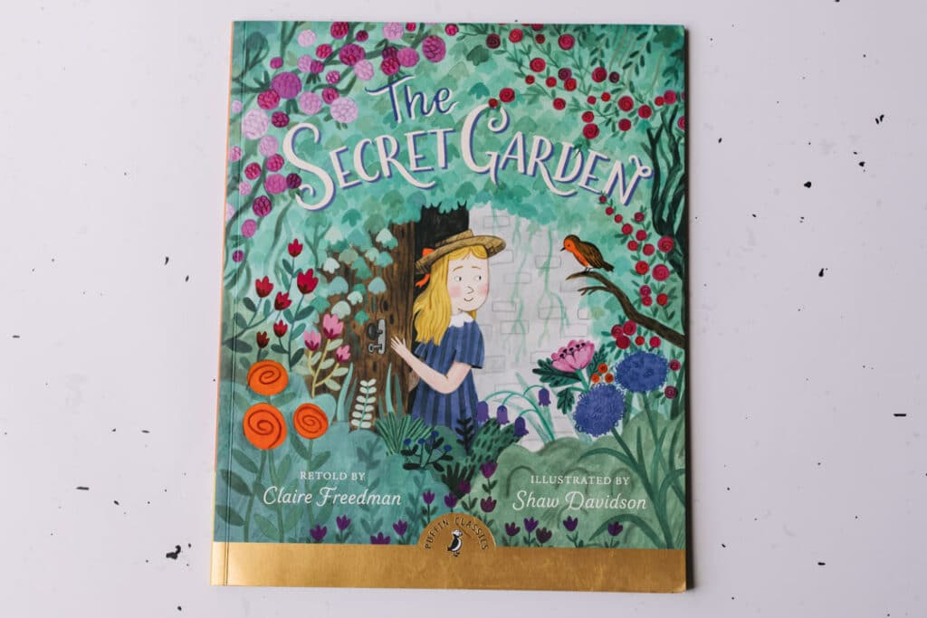 The secret garden book. 30 books to read for 0-5 year old - Part 2. Ewa Jones Photography