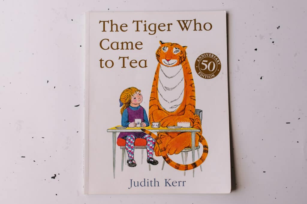 The Tiger who came for tea. 30 books to read for 0-5 year old - Part 2. Ewa Jones Photography