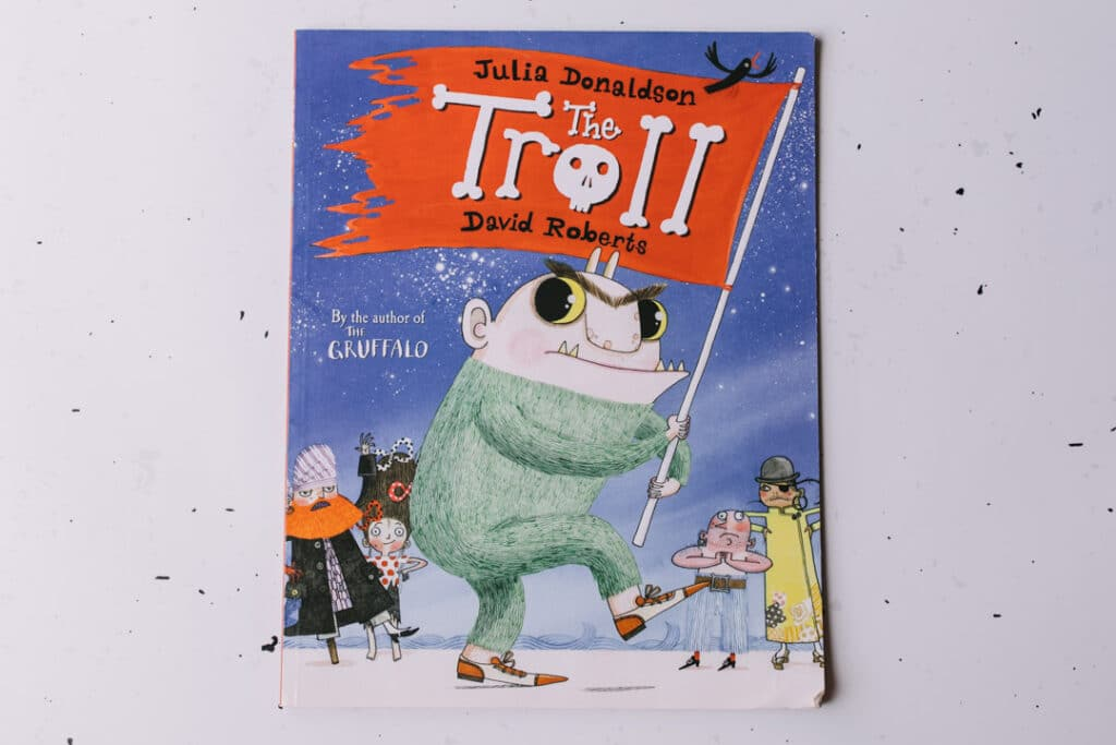 The Troll book. 30 books to read for 0-5 year old - Part 2. Ewa Jones Photography