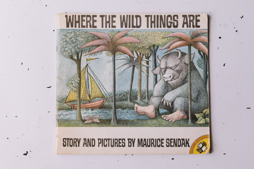 Where the wild things are book. 30 books to read for 0-5 year old - Part 2. Ewa Jones Photography