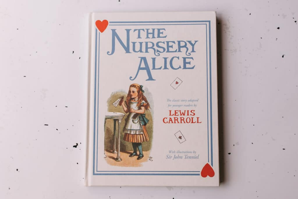The nursery Alice book. 30 books to read for 0-5 year old - Part 2. Ewa Jones Photography