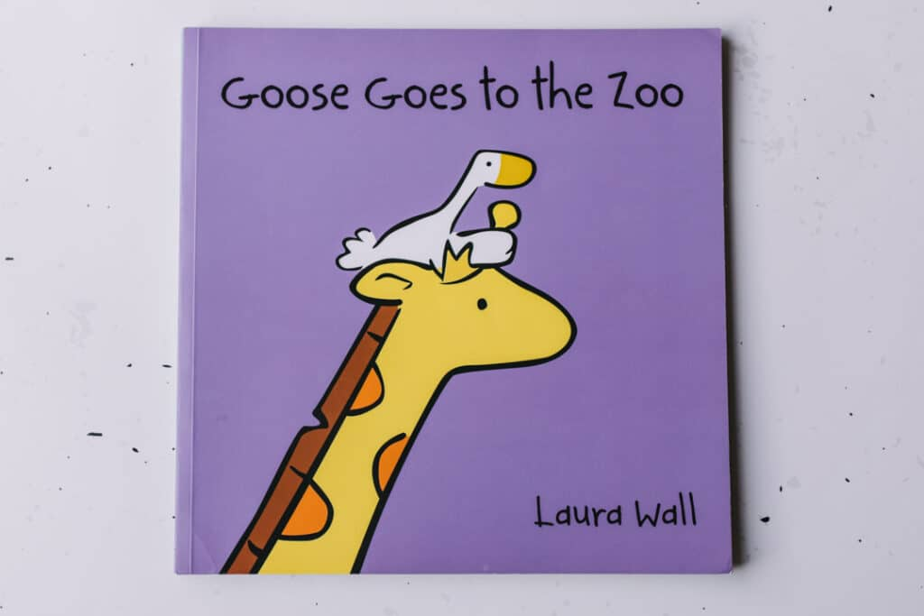 Goose Goes to the zoo book. 30 books to read for 0-5 year old - Part 1. Ewa Jones Photography