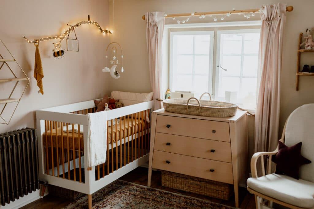 nursery design in rustic look. Ewa Jones Photography