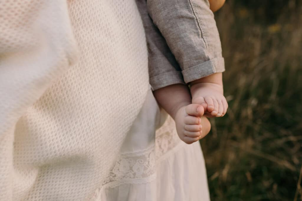 Close up detail of baby boy feet which are so sweet. Family photography in Basingstoke, Hampshire. Ewa Jones Photography